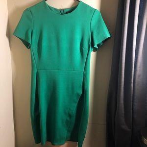 top shop professional green dress